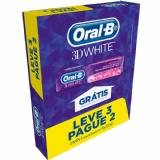 CREME DENTAL ORAL-B 3D WHITE 3 UNIDADES