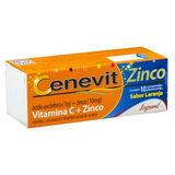CENEVIT EFERVESCENTES ZINCO 1G + 10MG 10 COMPRIMIDOS