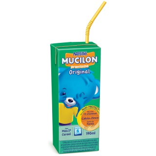 Mucilon Prontinho Original Tetra Pak 190ml