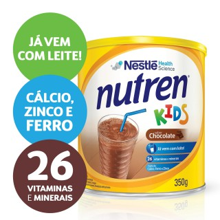 NUTREN KIDS Chocolate Complemento alimentar Lata 350g
