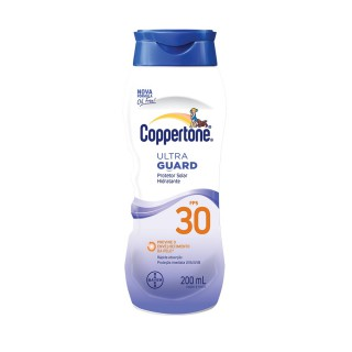 Protetor Solar Coppertone FPS-30 Ultra Guard loção 200ml