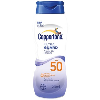Protetor Solar Coppertone FPS-50 Ultra Guard 200ml