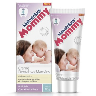 Creme dental Malvatrikids Mommy 85g