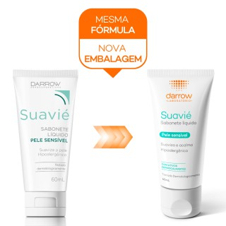 Suavie sabonete líquido 60ml