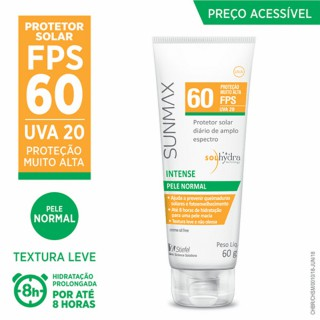 SunMax FPS-60 Intense pele normal seca 60ml