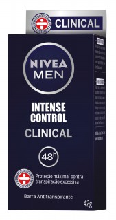 Desodorante Nivea Clinical masculino 42g