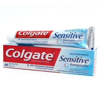 Creme dental Colgate Sensitive Branqueador 103g
