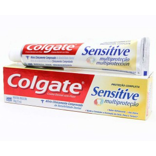 Creme dental Colgate sensitive multiproteção 100g