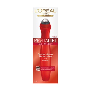 Creme Loreal Revitalift roll on olhos 15g