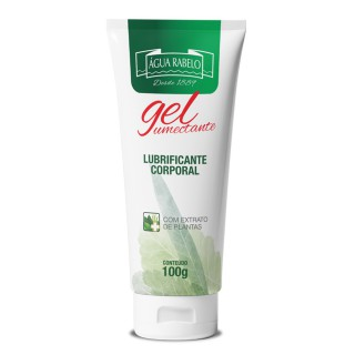 Gel Agua Rabelo umectante Lubrificante Corporal 100G