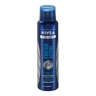Desodorante Nivea aerosol Fresh Active 150ml