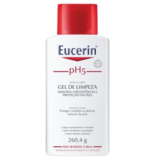 Eucerin gel limpeza Syndet PH5 260,4g