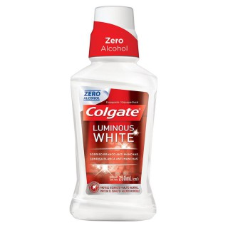 Enxaguante bucal Colgate Luminous White 250ml
