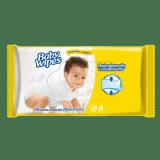 LENÇO UMEDECIDO BABY WIPES 48 UNIDADES