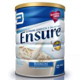 SUPLEMENTO NUTRICIONAL ENSURE BAUNILHA 900G