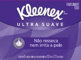 LENÇOS DE PAPEL KLEENEX DERMOSEDA SEM PERFUME 50 UNIDADES