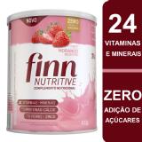 COMPLEMENTO NUTRICIONAL FINN NUTRITIVE SABOR MORANGO SILVESTRE 400 GRAMAS