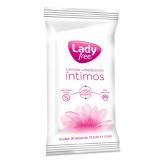 LENÇO UMEDECIDO ÍNTIMO LADYFREE WIPES 20 UNIDADES