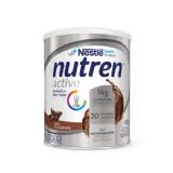 NUTREN ACTIVE CHOCOLATE SUPLEMENTO ALIMENTAR LATA 400G