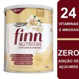 COMPLEMENTO NUTRICIONAL FINN NUTRITIVE SABOR BAUNILHA 400 GRAMAS