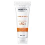 Neostrata Minesol Corpo & Rosto Protetor Solar Fluido Hidratante FPS 60 120 ML