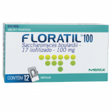 FLORATIL 100MG 12 CÁPSULAS