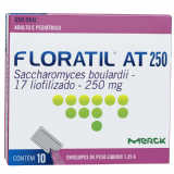 FLORATIL AT MERCK 10 SACHÊS 1,25G CADA