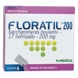 FLORATIL 200 MG 4 ENVELOPES EFERVESCENTES