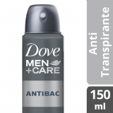 DESODORANTE AEROSOL DOVE MEN CARE ANTIBAC 89G