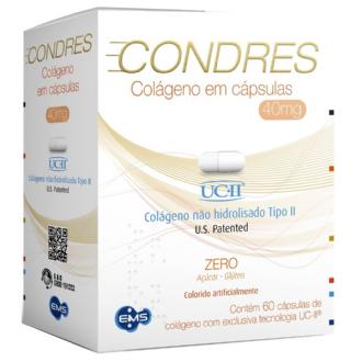 CONDRES COLÁGENO 40MG 60 CÁPSULAS
