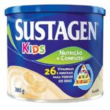 SUSTAGEN KIDS SABOR BAUNILHA LATA 380G