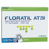 FLORATIL AT MERCK 250MG 10 CÁPSULAS