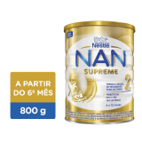 LEITE EM PÓ NAN SUPREME 2 NESTLÉ A PARTIR DO 6º MÊS 800G