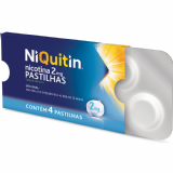 Niquitin Pastilhas 2mg com 4 pastilhas
