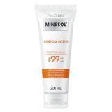 Neostrata Minesol Corpo & Rosto Protetor Solar Fluido Hidratante Antioxidante FPS99 200ml
