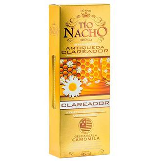 SHAMPOO ANTIQUEDA CLAREADOR NATURAL TÍO NACHO C/ GELÉIA REAL E CAMOMILA 415ML