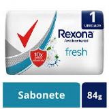 SABONETE REXONA ANTIBACTERIAL FRESH 84G