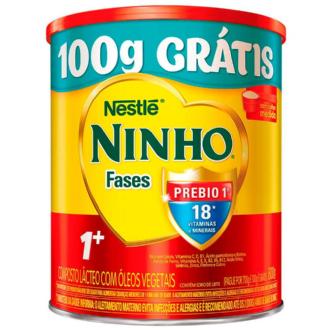 LEITE NINHO FASES 1+ LEVE 800G PAGUE 700G