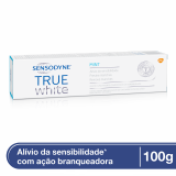 CREME DENTAL SENSODYNE BRANQUEADOR TRUE WHITE 100G