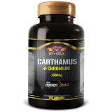 CARTHAMUS + CHROMIUM 1000MG C/ 120 CÁPSULAS VIT GOLD