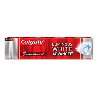 Creme Dental Colgate Luminous White Advanced 70g Drogao Super