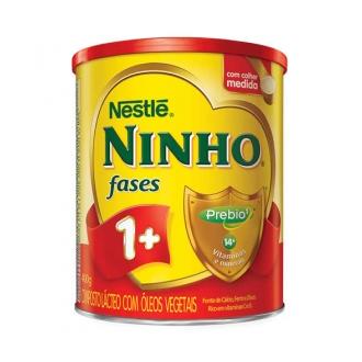 LEITE EM PÓ NINHO FASES 1+ 400G