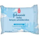 LENÇO UMEDECIDO JOHNSON`S BABY HORA DE BRINCAR 25 UNIDADES