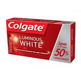 KIT CREME DENTAL COLGATE LUMINOUS WHITE 1 UNIDADE