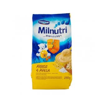 CEREAL INFANTIL MILNUTRI ARROZ E AVEIA 230G
