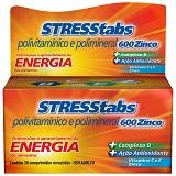 STRESSTABS 600 MG ZINCO 30 COMPRIMIDOS