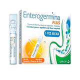 ENTEROGERMINA PLUS 5 FLACONETES COM 5ML