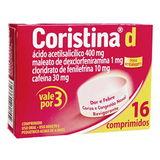 CORISTINA D 16 COMPRIMIDOS