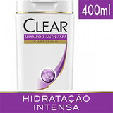 SHAMPOO ANTICASPA CLEAR WOMEN HIDRATAÇÃO INTENSA 400ML