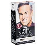 GRECIN SHAMPOO TONALIZANTE TONS DE GRISALHO 40G
